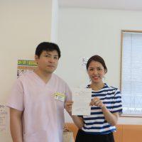 岩国市にお住いの相川様(26歳/セラピスト/女性)